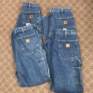 Men's Carhartt Carpenter Work Jeans